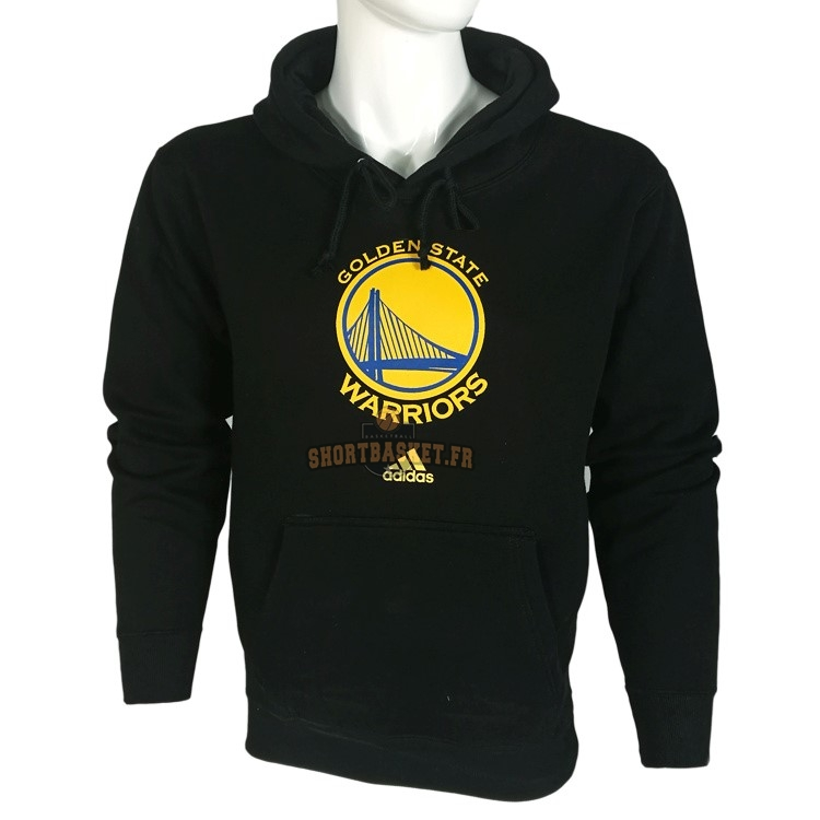 Nouveau Hoodies NBA Golden State Warriors Noir City pas cher