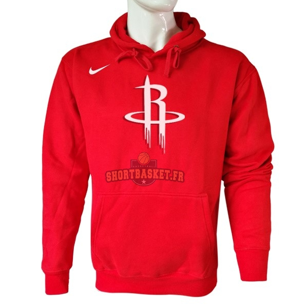 Nouveau Hoodies NBA Houston Rockets Nike Rouge pas cher