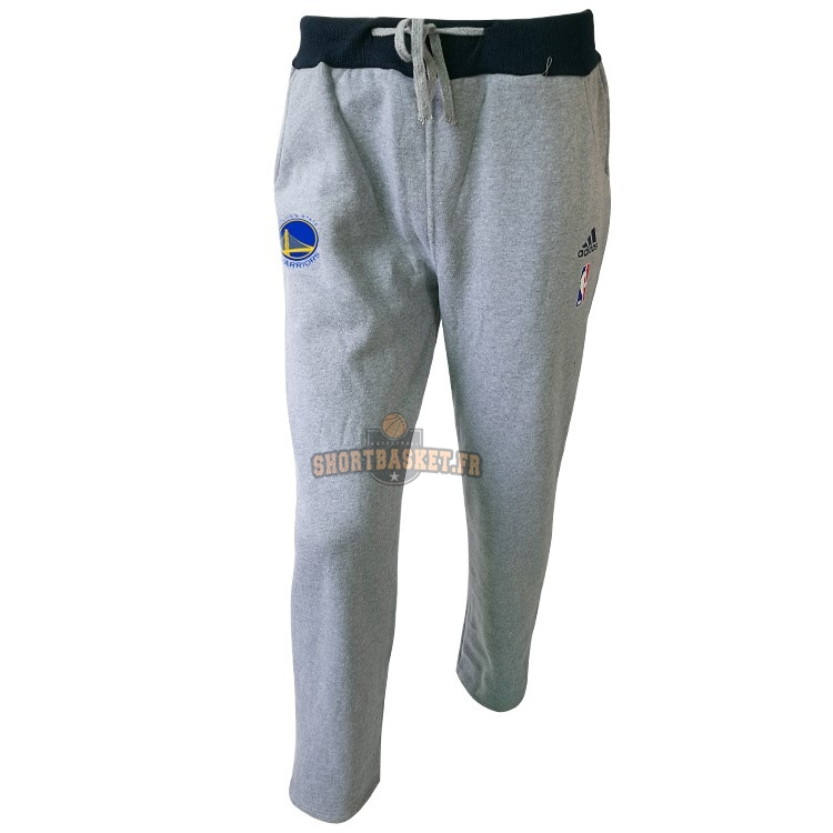 Nouveau Survetement Short Basket Golden State Warriors Gris pas cher