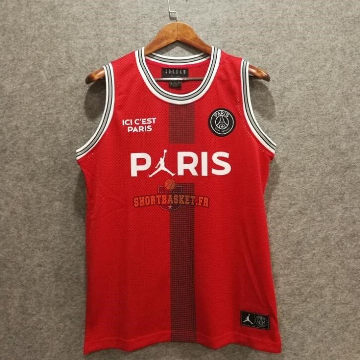 Jordan Ball Nouveau Paris Maillot X Basket Collaboration 4c5qA3RLj