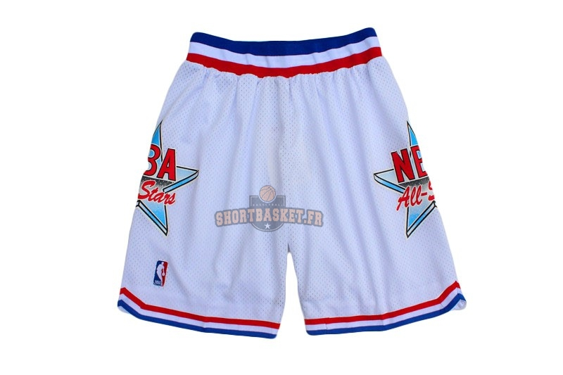 Nouveau Short Basket 1992 All Star Blanc pas cher