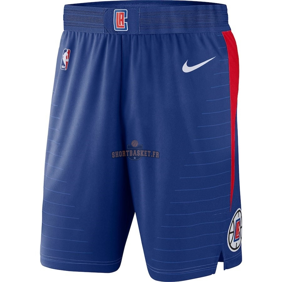 Nouveau Short Basket Los Angeles Clippers Nike Bleu Icon 2018 pas cher