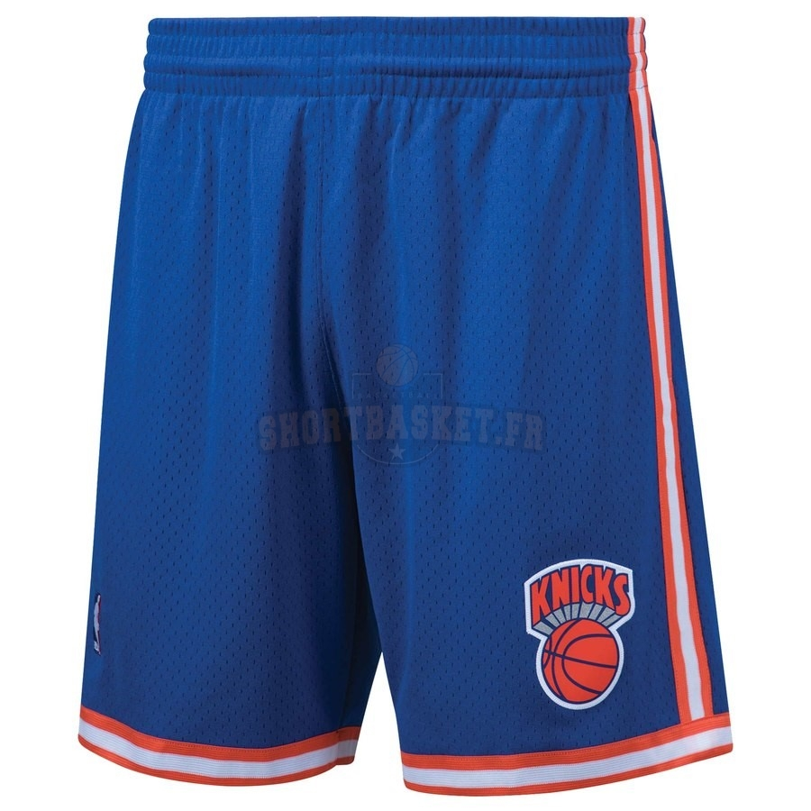 Nouveau Short Basket New York Knicks Bleu Hardwood Classics pas cher