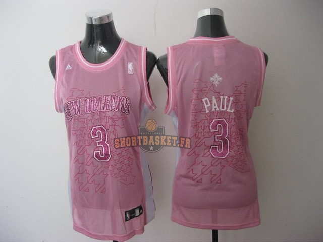 Nouveau Maillot NBA Femme Los Angeles Clippers NO.32 Blake Griffin Rose pas cher