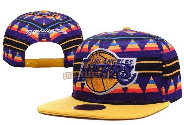 Nouveau Bonnet 2016 Los Angeles Lakers Jaune pas cher