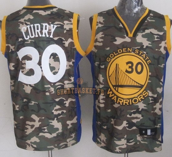 Nouveau Maillot NBA 2013 Camouflage Fashion NO.30 Curry pas cher
