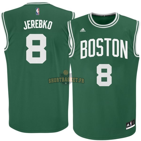 Nouveau Maillot NBA Boston Celtics No.8 Jeff Green Vert pas cher