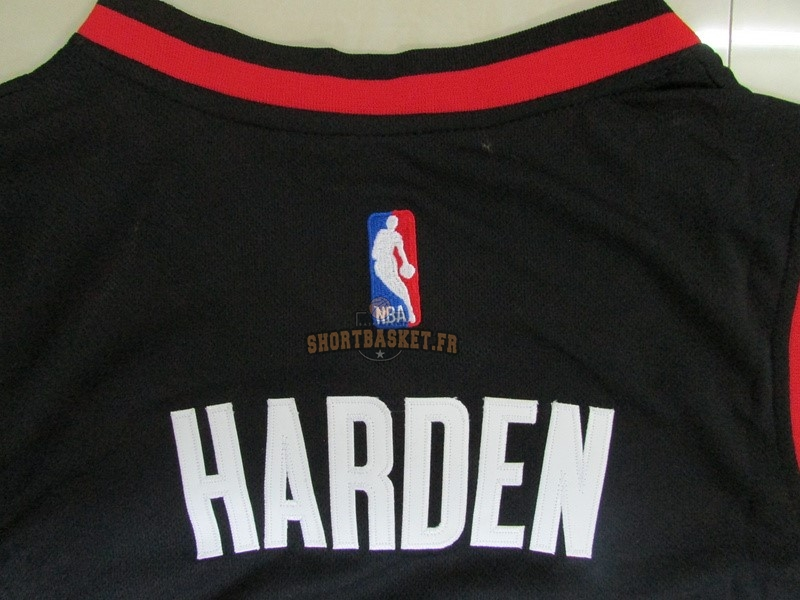 Nouveau Maillot NBA Houston Rockets NO.13 James Harden Noir pas cher