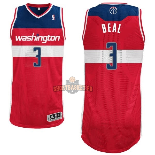 Nouveau Maillot NBA Washington Wizards NO.3 Bradley Beall Rouge pas cher