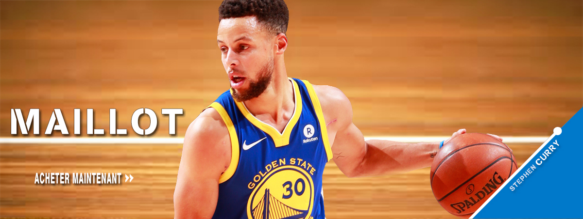 Maillot NBA Nike Golden State Warriors Stephen Curry